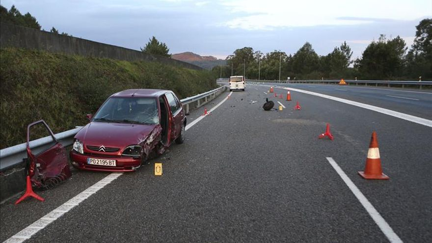 Cinco fallecidos en cinco accidentes de tráfico durante el fin de semana