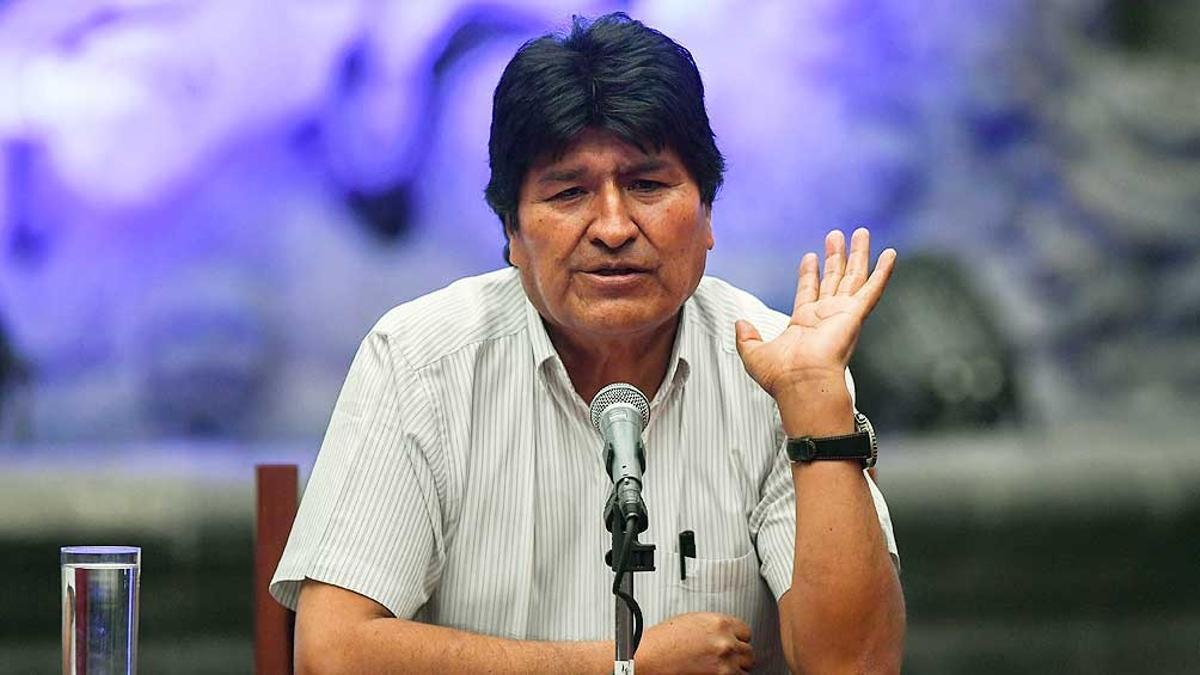 Evo Morales dio positivo de Covid-19