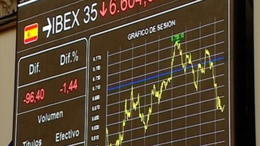 El Ibex cede un 1,33%