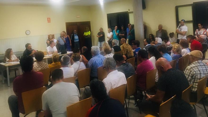Reunión reciente de integrantes de Muvisa con vecinos afectados en Las Chumberas