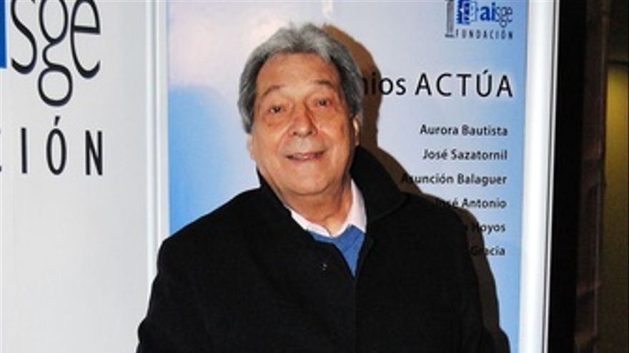 Actor Sancho Gracia. (EUROPA PRESS)