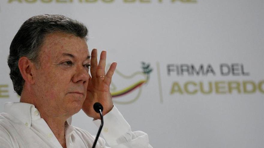 Santos afirma que el proceso de paz no ha supeditado las relaciones con Venezuela