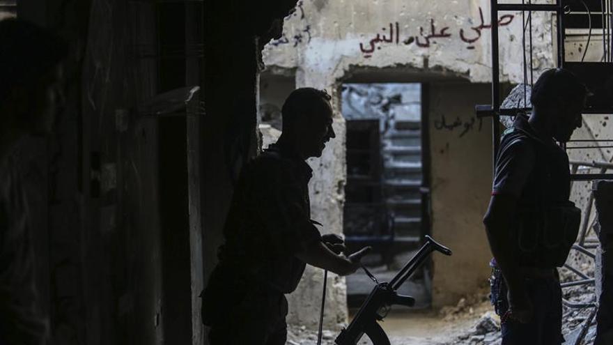Un avión de guerra es alcanzado por el EI en el noreste de Siria