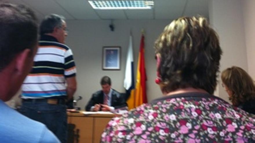 Rodríguez Cabral declara ante el juez.