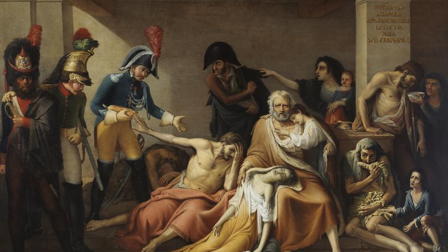 'El año del hambre de Madrid', de José Aparicio (1818).