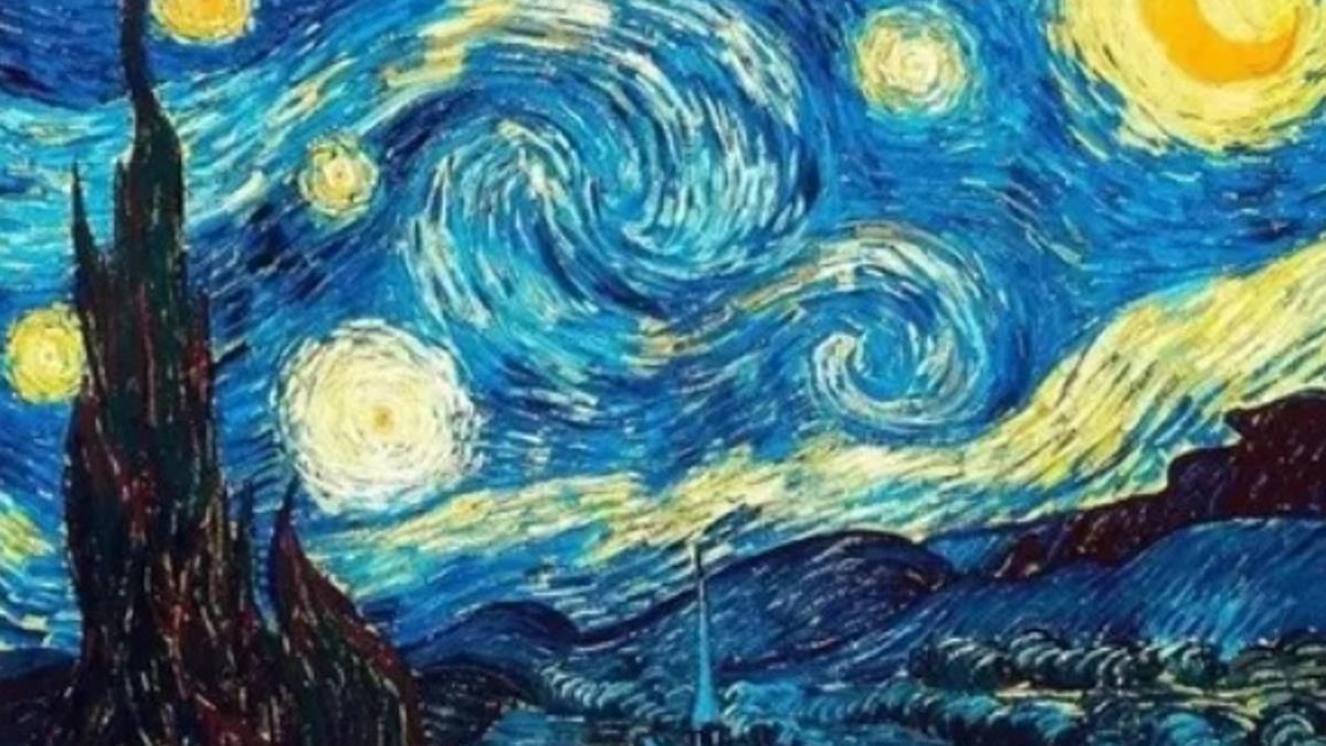La noche estrellada de Vincent van Gogh (1889)