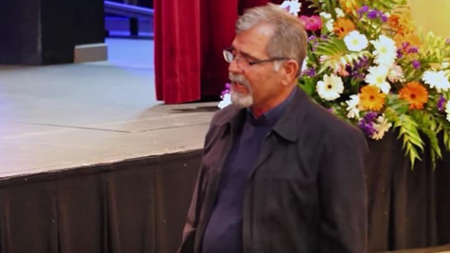 El fallecido Ico Arocha durante una actuación.