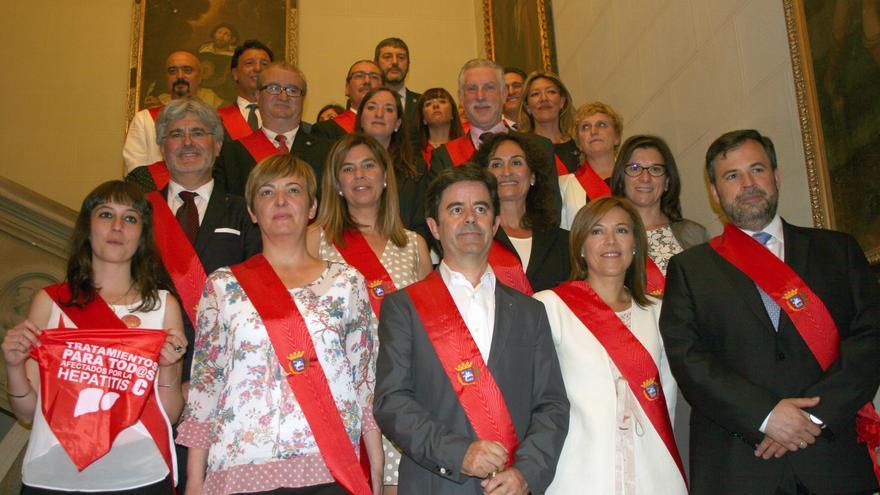Corporación municipal de Huesca.