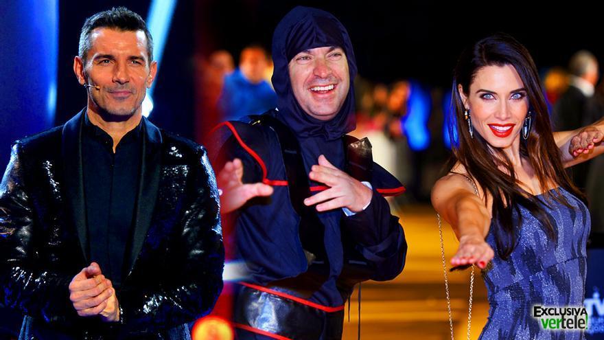 'Ninjas' en Antena 3 vs famosos que cantan en Telecinco, la nueva batalla de los viernes