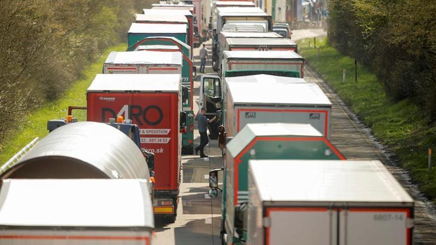 Los transportistas piden un Ministerio de Transporte que vele por el sector