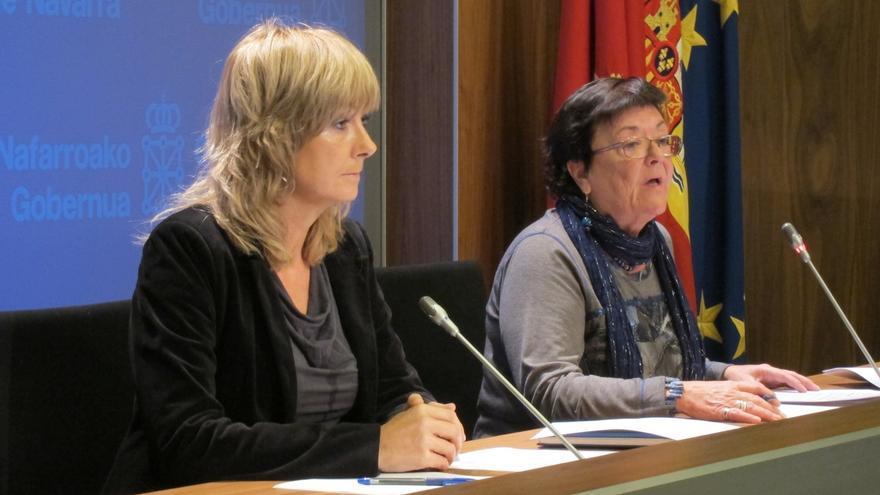 La presidenta del Gobierno foral declara disponer de 9.493 euros, un coche de 2007 y plan de pensiones por 29.000 euros