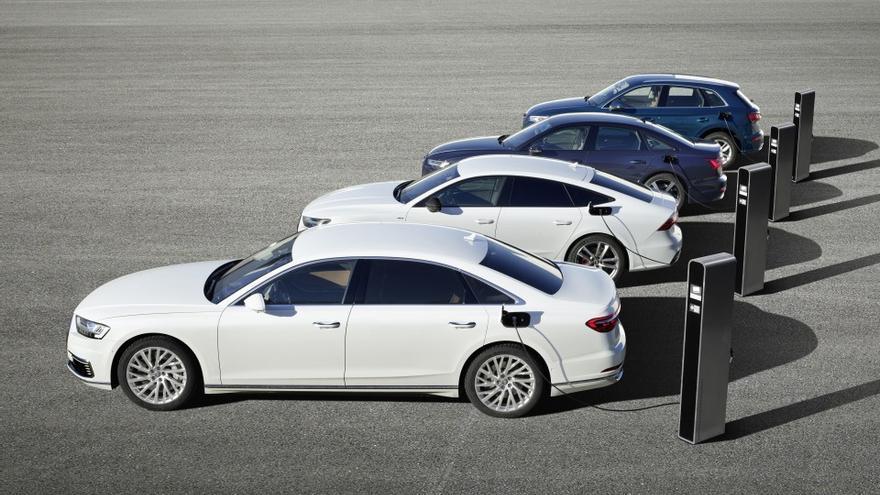 Audi afirma que en 2025 uno de cada tres vehículos nuevos que comercialice será electrificado.