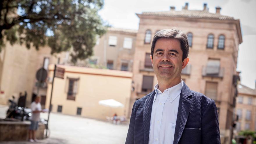 Luis Felipe Serrate, alcalde de Huesca. Foto: Juan Manzanara