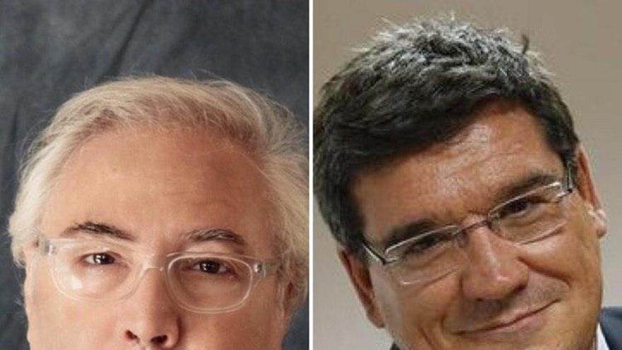 Manuel Castells y José Luis Escrivá
