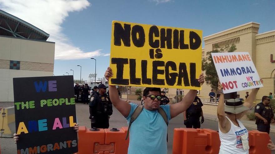 EE.UU. da a conocer los nombres de los menores de cinco años separados de sus padres en la frontera