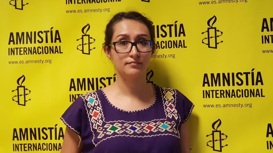 Aleida Quintana visitó La Palma la semana pasada.