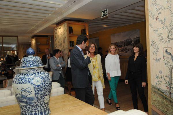 Ana Botella durante su visita al hotel Urso (C/ Mejía Lequerica, 8) | Fotografía: Ayuntamiento de Madrid