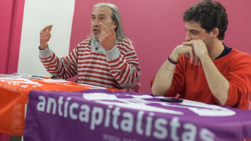 A la izquierda, Miguel Segui.