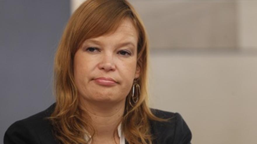 Ministra De Igualdad, Leire Pajín