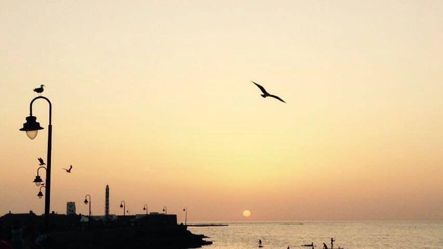 La Caleta, uno de los escenarios primordiales de Cádiz.