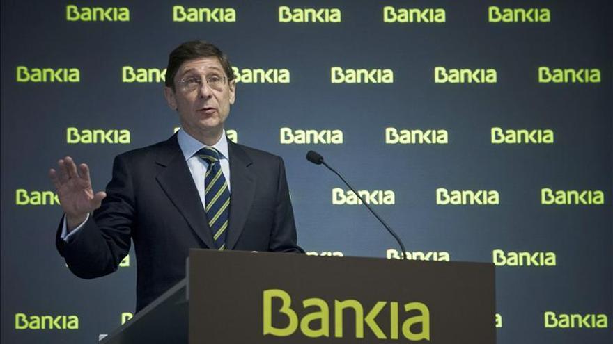 Goirigolzarri ha capitaneado esta primera parte privatización de Bankia.