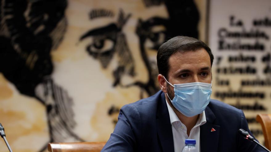 """Garzón reclama """"una reforma integral del mercado energético"""""""