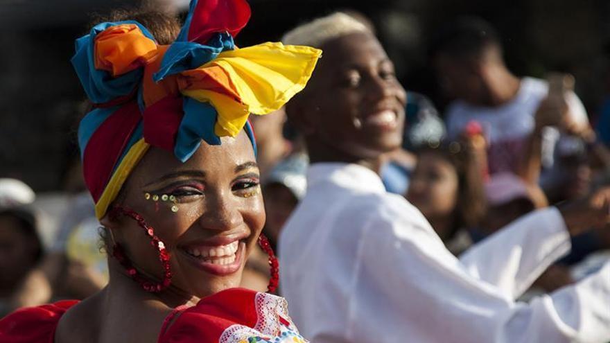 Cartagena de Indias celebra con un desfile sus fiestas de Independencia