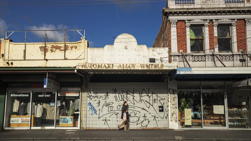 Imagen de una calle de Melbourne el pasado 2 de julio.