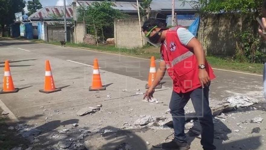 Un seísmo de magnitud 6,7 causa daños y al menos un muerto en Filipinas