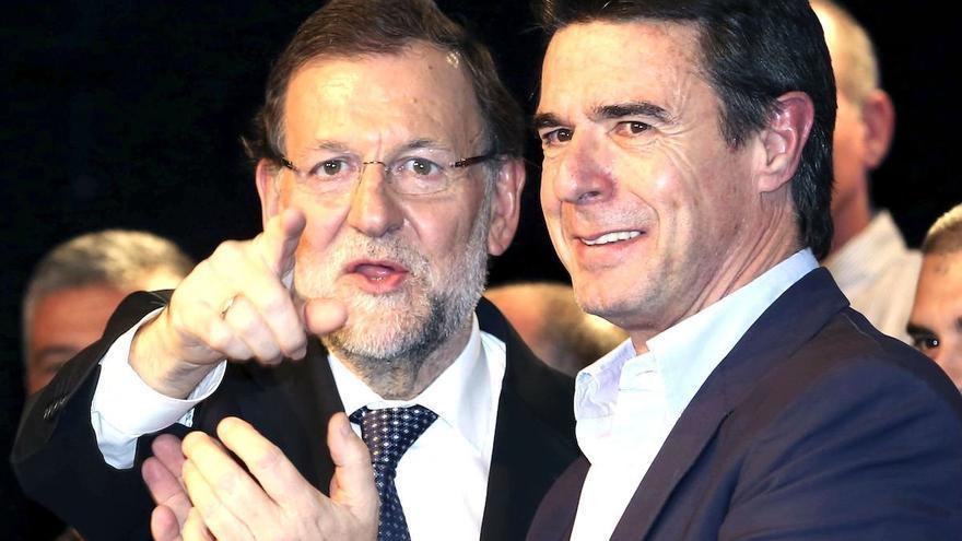 Mariano Rajoy y José Manuel Soria. Foto EFE