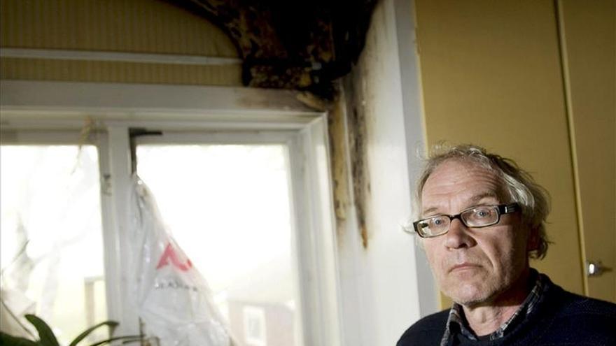 """El artista Lars Vilks relata su """"miedo"""" durante el tiroteo en Copenhague"""