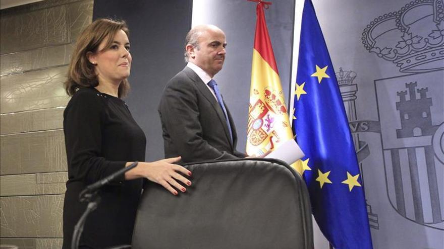 Sáenz de Santamaría hace un llamamiento a la moderación en Cataluña