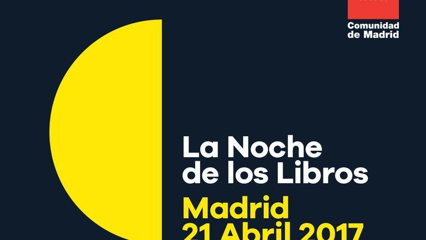 Logo de 'La Noche de los Libros' 2017