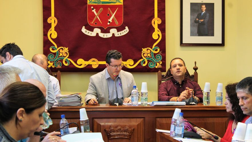 Pleno del Ayuntamiento de Arucas.