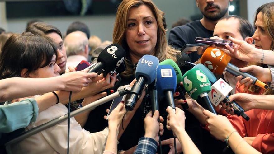 "Díaz acusa al Gobierno de ""doble castigo"" a Andalucía con PGE y fondos empleo"
