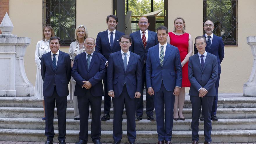 Presidente y consejeros de la Junta de Castilla y León