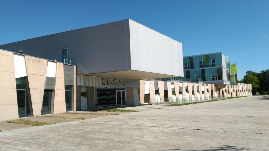 Vista general del CEGADI, en el barrio santiagués de Salgueiriños