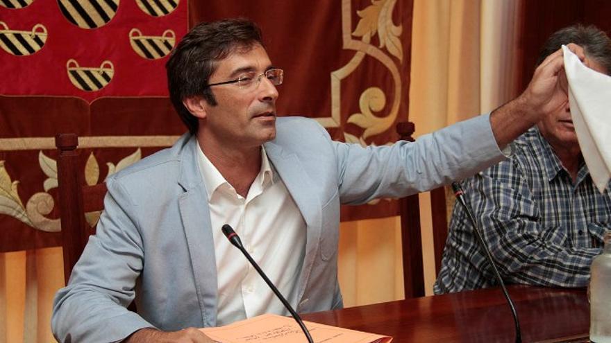 Pedro San Ginés, presidente del Cabildo de Lanzarote.