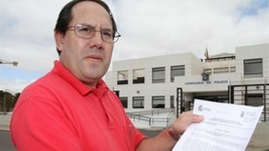 El activista José Morales, en una imagen de archivo.