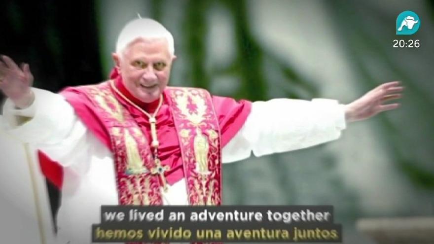 El Papa dice que habéis vivido una aventura juntos, ¿no vais a decir nada?