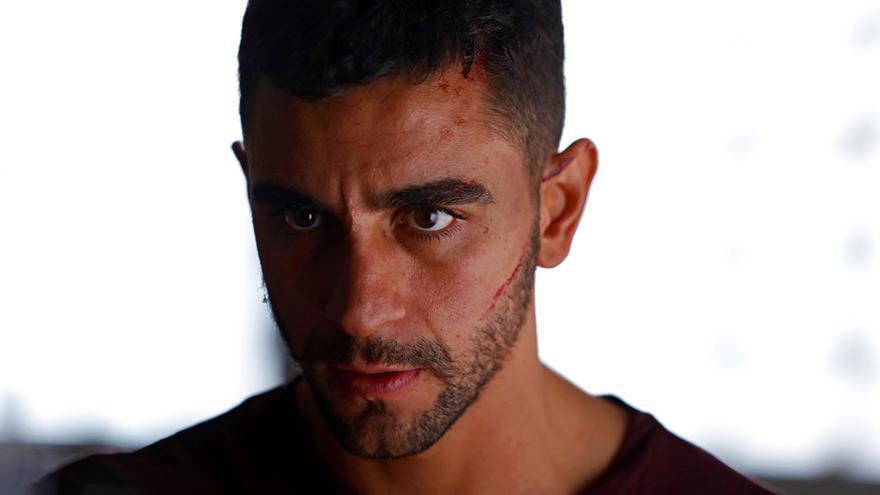Omar (César Mateo), protagonista de La víctima número 8