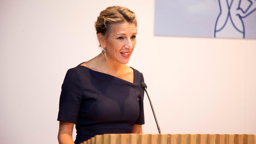 La vicepresidenta segunda y ministra de Trabajo y Economía Social, Yolanda Díaz.