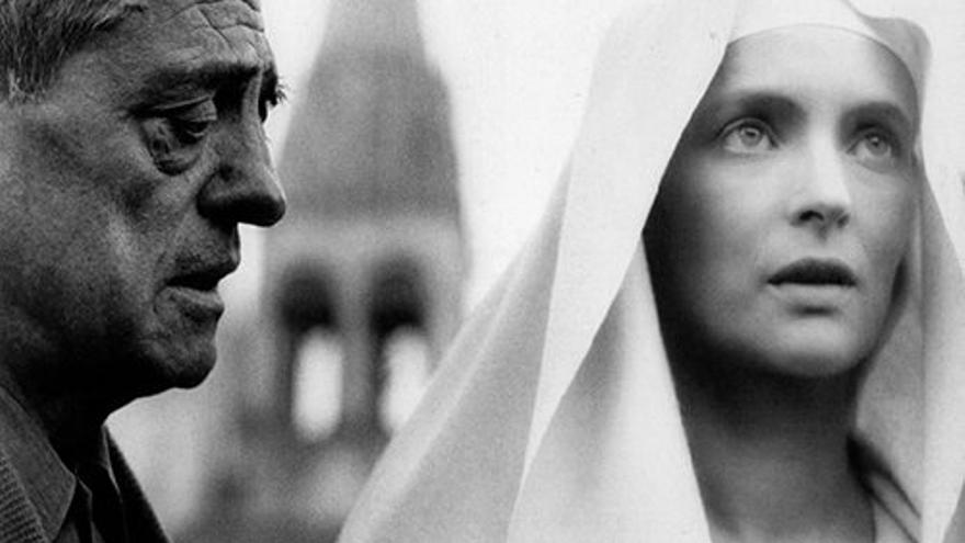 Luis Buñuel y Edith Scop en 1969.   Greenwich Film Production - Paris-Fraia Film