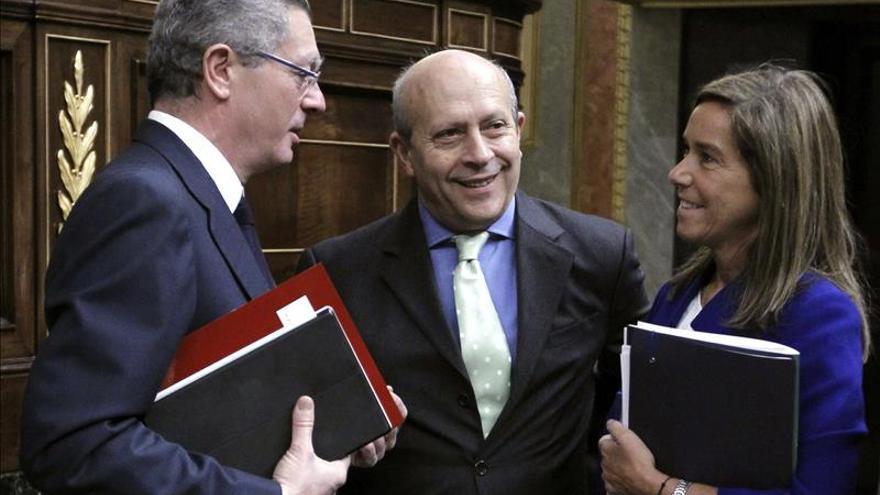 Gallardón ve una enorme responsabilidad en quien busca enfrentar a los españoles