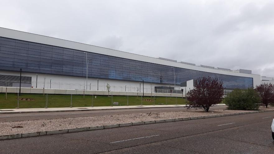 Nuevo Hospital Universitario de Toledo. Imagen de este lunes 23 de marzo / Foto: Carmen Bachiller