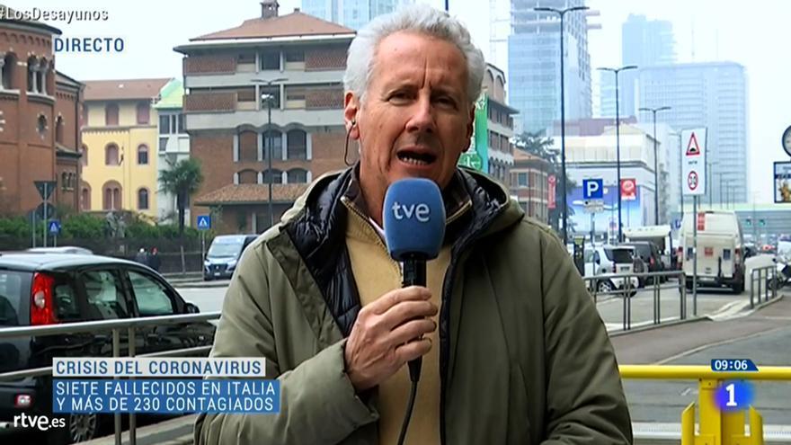 Lorenzo Milá en 'Los Desayunos de TVE'