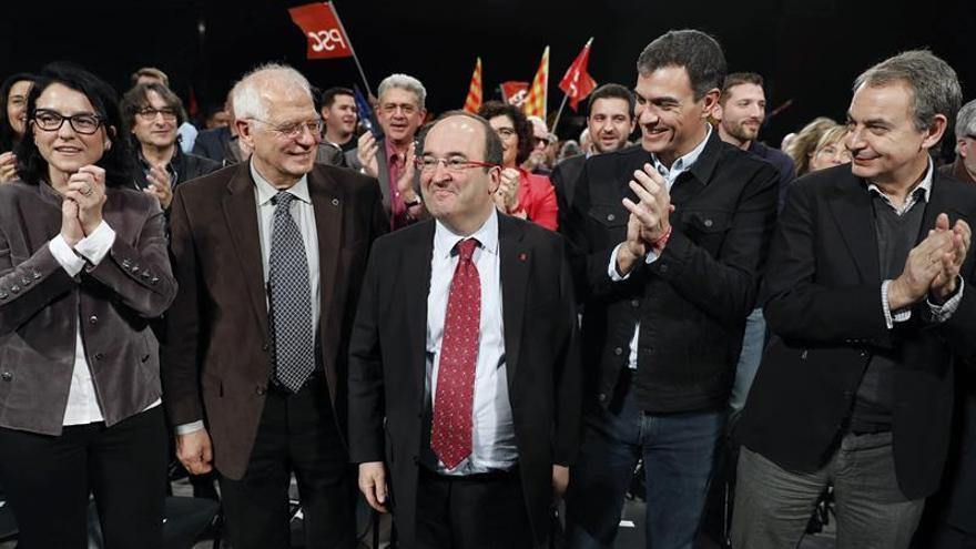 "Iceta se erige en garante del catalanismo frente al ""giro a la derecha"" de Cs"