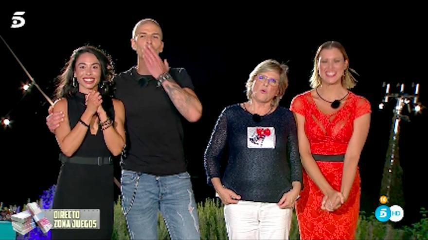 Macarena, Labrador, Juani y María Jesús Ruiz se despidieron de 'La casa fuerte'