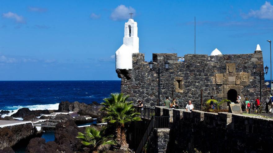 El antiguo Castillo de San Miguel, fortificación del puerto de Garachico. VIAJAR AHORA