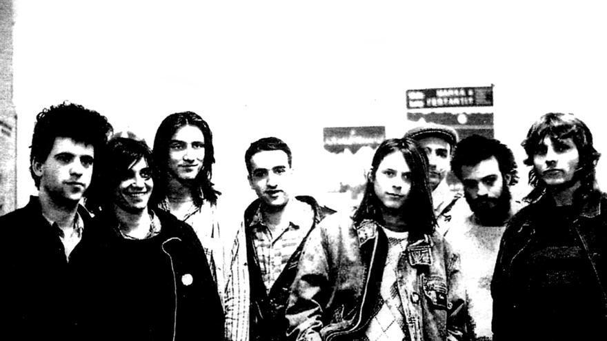 Los primeros ocho insumisos de Barcelona en 1989